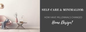 self-care & minimalism